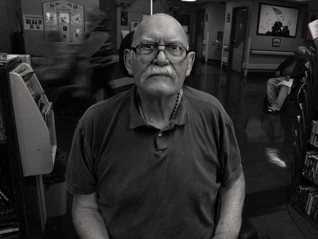 Ray Allen, 81, U.S. Navy 1964 - 66.