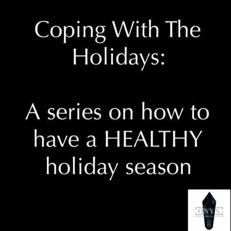 Coping With The Holidays