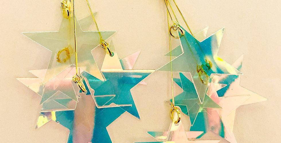 Stars Sequin Drop Earrings