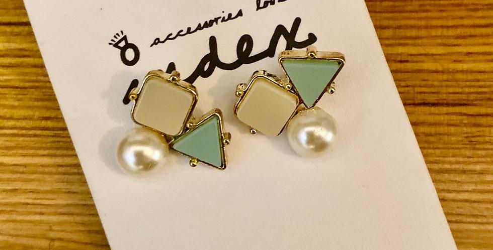 Shapes Stud Earrings