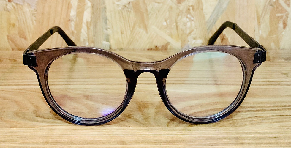 Rounded Transparent Grey Frame