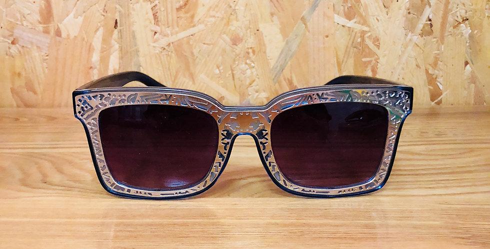 Rectangle Stylish Blue Sunglasses