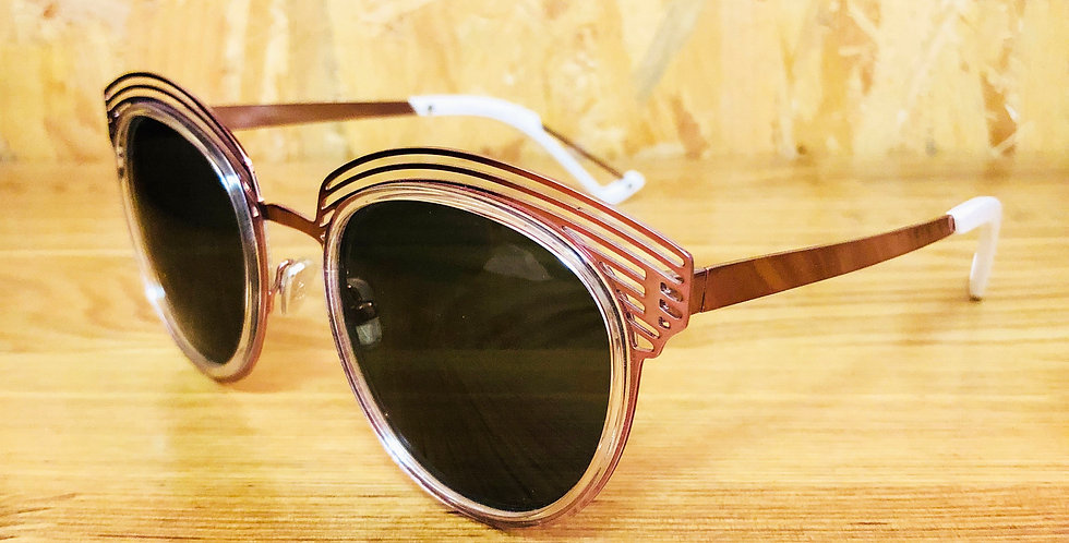 Electric Pink Clubmaster Sunglasses