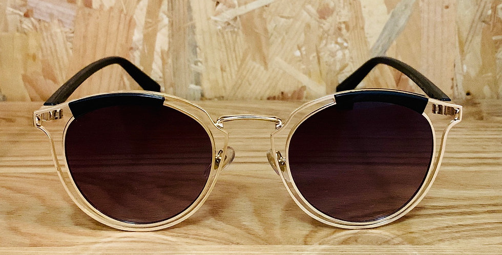 Rounded Shape Gradient Len Sunglasses