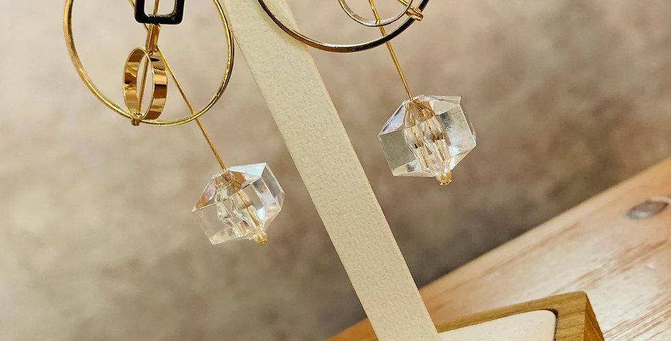 Geometric Shape Drop Earrings