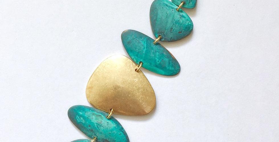 Brass Shape Bracelet