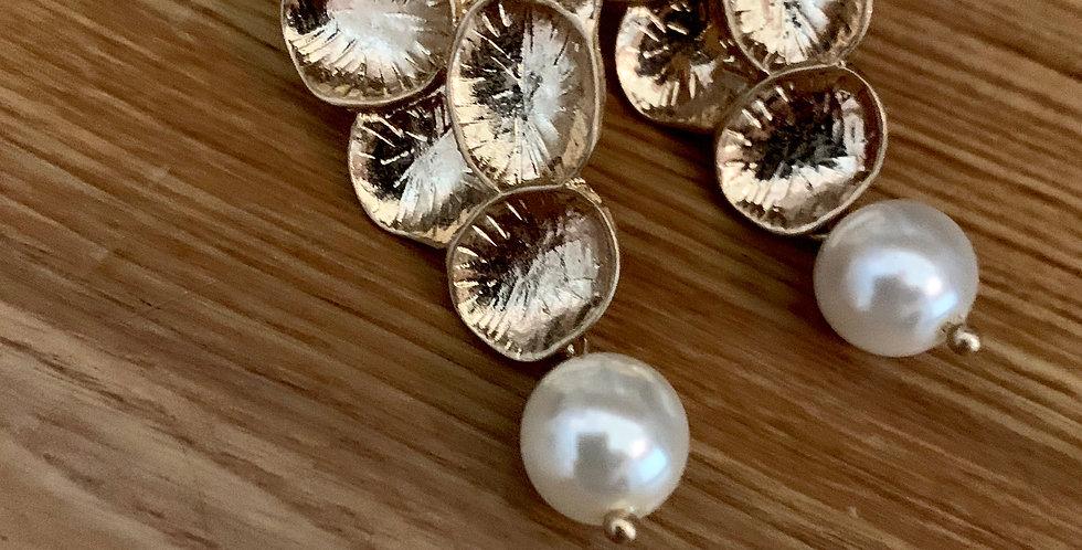 Circles Drop Earrings