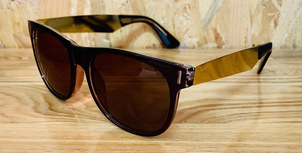 Basic Wayfarer Brown Sunglasses