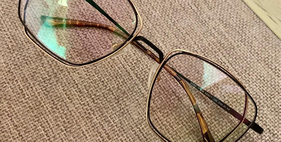 Stylish Double Frame Eyeglasses