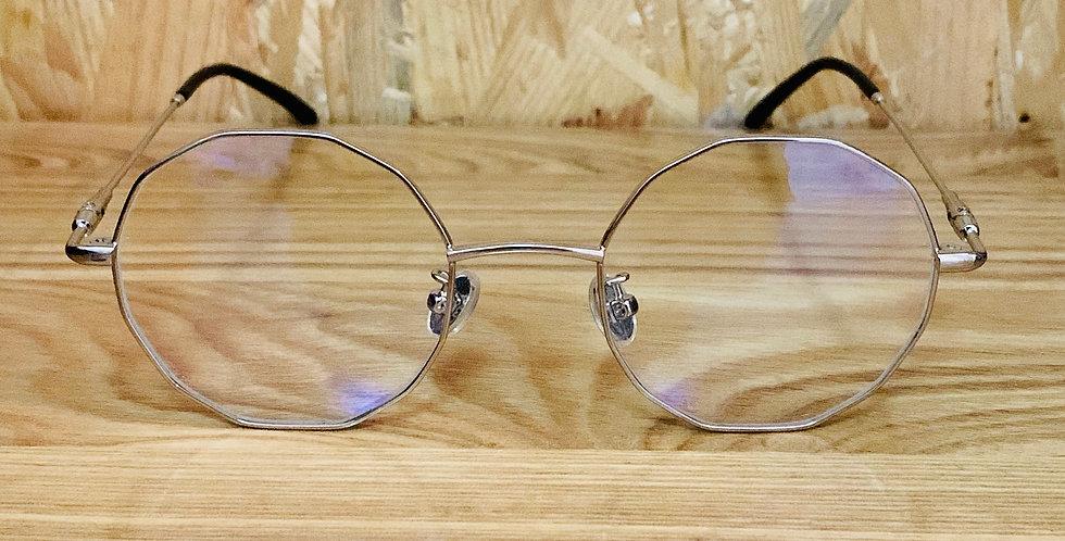 Polygon light metal  Eyeglasses