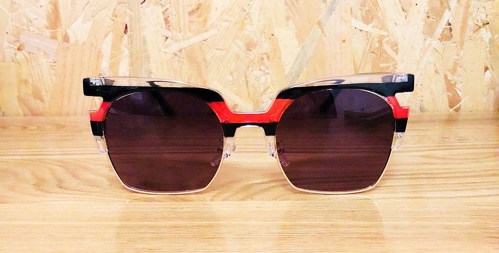Strip Clubmaster Sunglasses