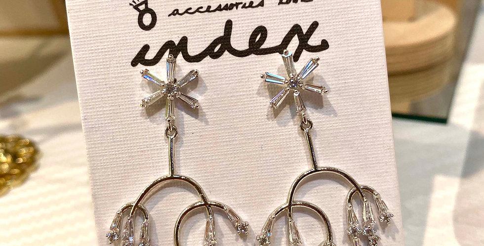 Sparkle Short Drop Earrings