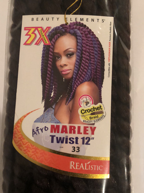 Beauty Elements Marley Twist Crochet Braid