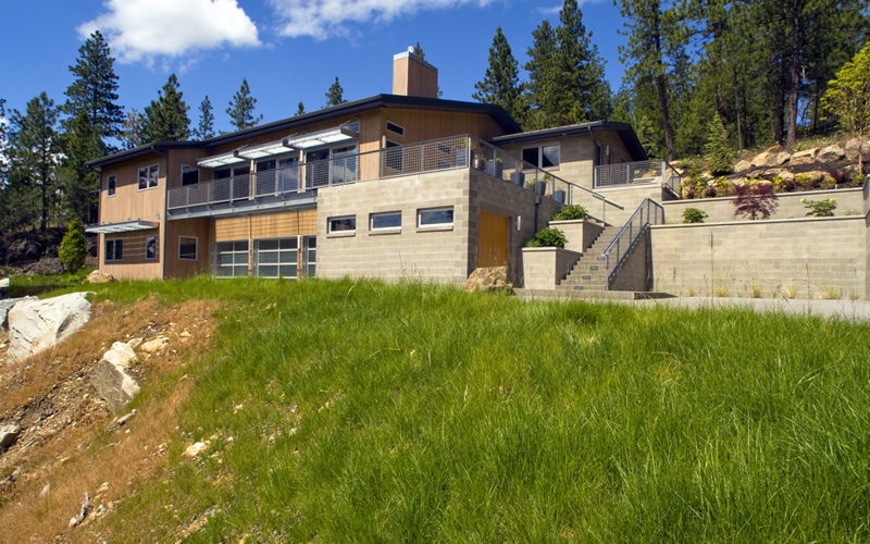 Spokane Sustainable Passive Solar Design