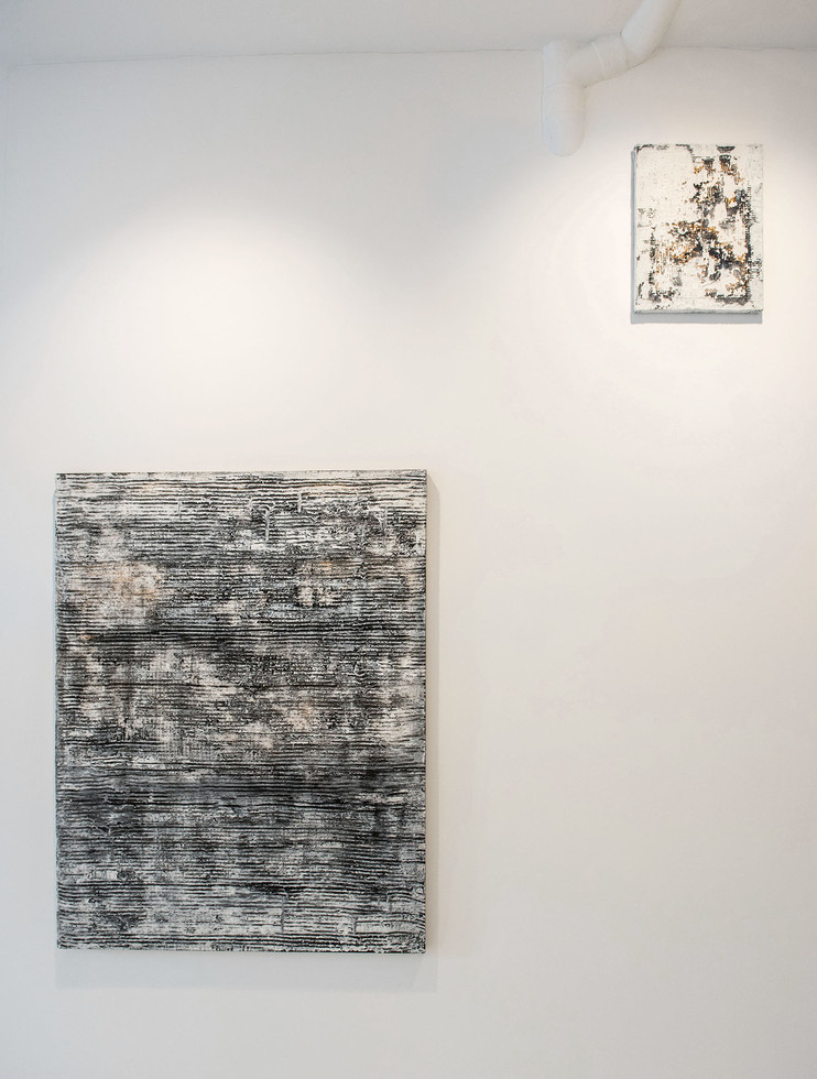 Instalation view. Sedimented silences. Solo Show. 2018