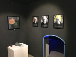 Installation view 4 (inside cage)