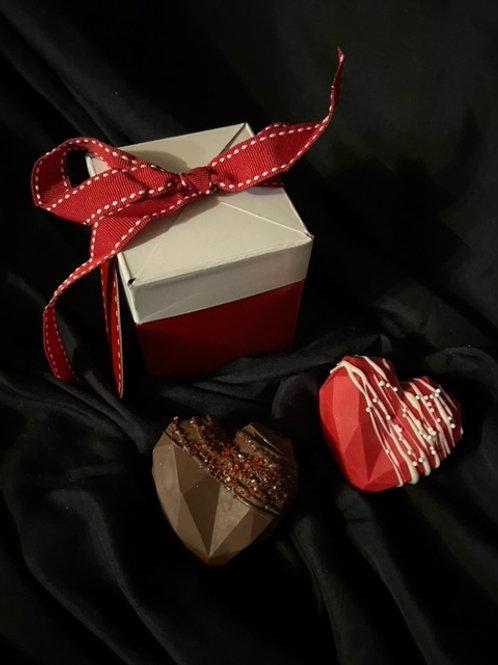 Hot Chocolate Bomb Hearts
