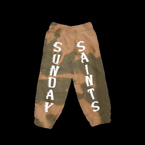 Seb x Littlesaint Holy Saint Bleached Sweatpants