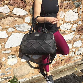 Womens Holdall, Gymbag, trainer compartment, laptop bag, weekender