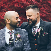 gay wedding couple get marred