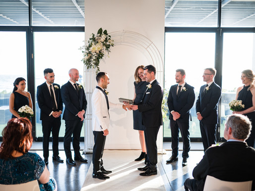 """I Now Pronounce You,"" (for same-sex couples married by celebrants)"