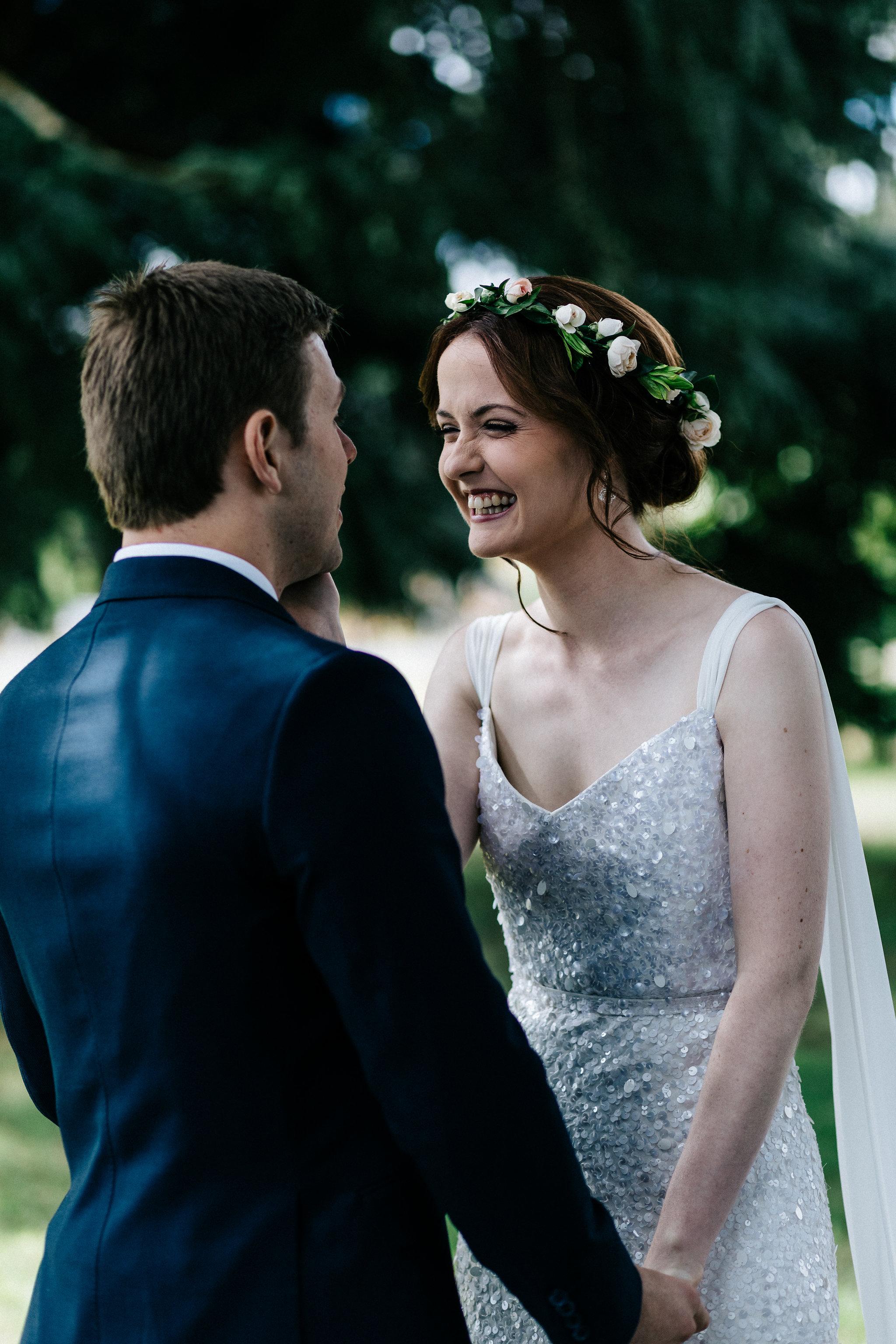 Sarah & Lucas' DIY wedding