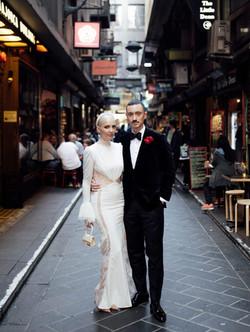 Melbourne stylish wedding photography laneways _edited