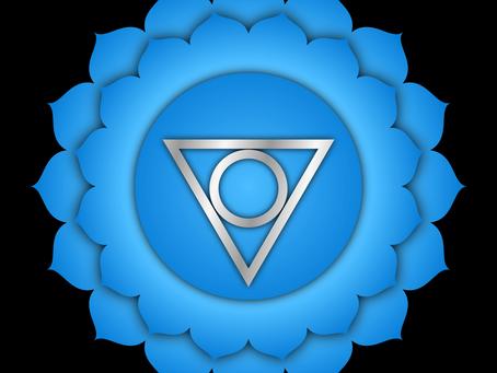 Het 5e Chakra: Vishuddha of keelchakra.