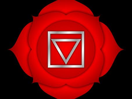 Het 1e Chakra: Wortelchakra of Muladhara chakra
