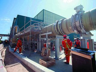 En un 97% de avance se encuentran los trabajos de la nueva desaladora de Minera Escondida