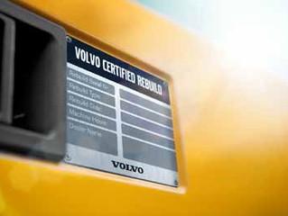 El Programa de Reacondicionamiento Certificado extiende nueva vitalidad a las máquinas de Volvo