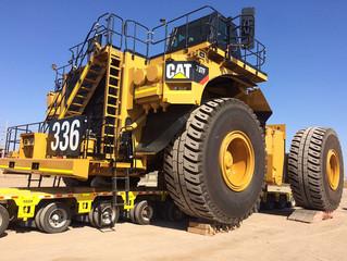 El camión minero más productivo del mundo llegó a Antofagasta