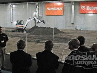 Bobcat y Doosan inauguran el Centro de Aceleración, para desarrollar innovaciones de diseño, pruebas