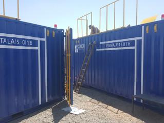 Empresa filial de La Vinilla hace entrega de 2 unidades de plantas de tratamiento de agua móviles pi