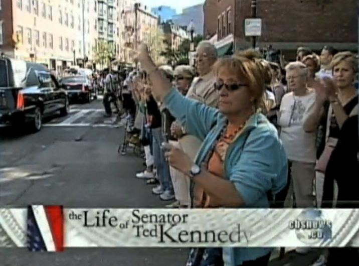 Mourning Senator Kennedy  CBS