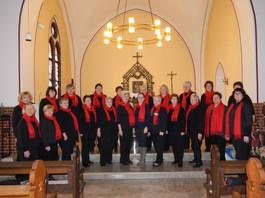 Konzert in der katholischenKirche (2018?). Foto: Renate Schmidt