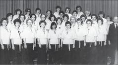 Frauenchor unter Leitung von Hans Joachim Schade. Foto: unbekannt