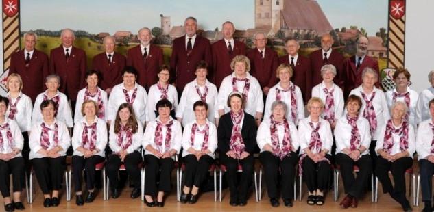 Gemischter Chor Werben. Foto: Simone Kautz, Räbel (Foto Kautz)