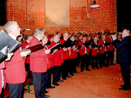 Männerchor feiert zwei Premieren. Volksstimme 27.12.2019. Foto: Astrid Mathis