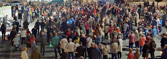 Offenes Singen auf dem Stendaler Markt