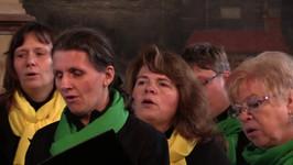 Chorensemble Zaunkönige in der Dorfkirche Wagenitz. 29.05.2017