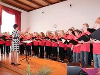 Chor feiert Jubiläum mit einem Festkonzert. Volksstimme 17.09.2012.  Foto: Frank Schmarsow