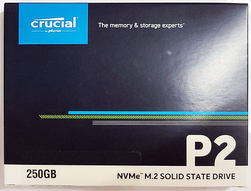 Crucial P2 PCIe M.2 2280 SSD (CT-P2SSD8)