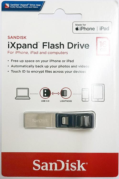 SanDisk iXpand USB 3.0 Flash Drive for iPhone and iPad (SDIX30N)