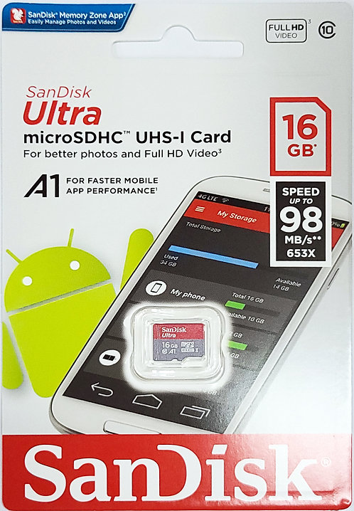 SanDisk Ultra Micro SD Card (SDSQUAR)