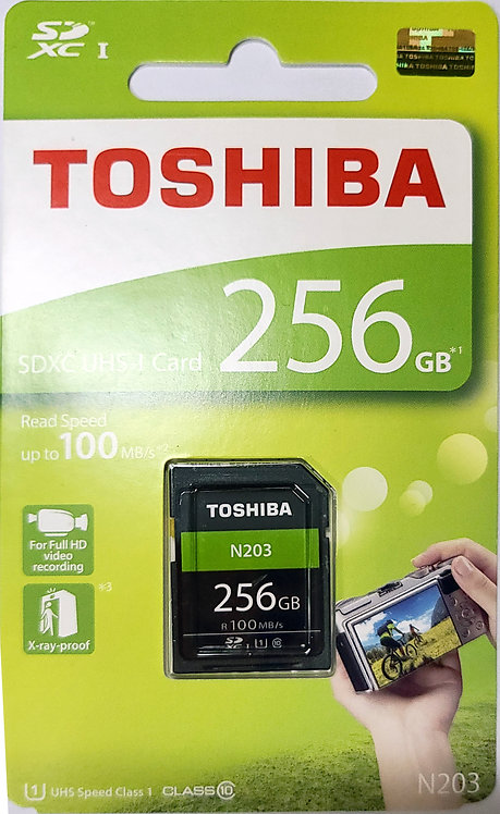 Toshiba N203 SD Card (THN-N203N-A4)