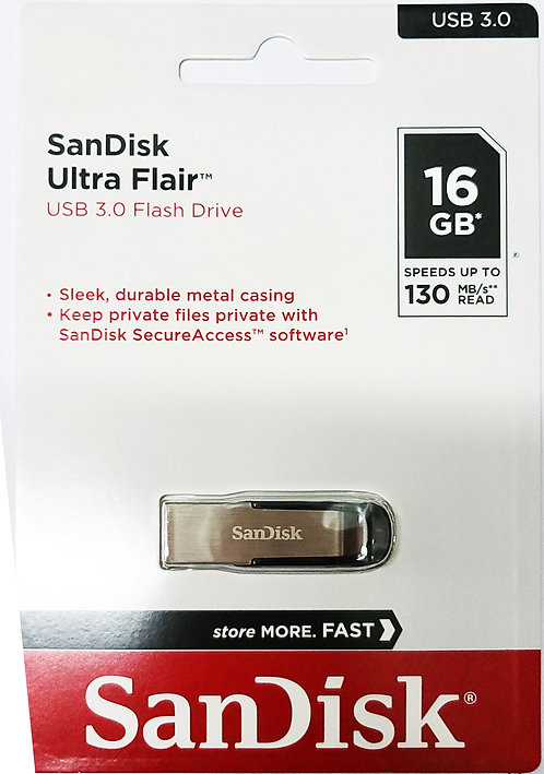 SanDisk Ultra Flair USB 3.0 Flash Drive (SDCZ73)