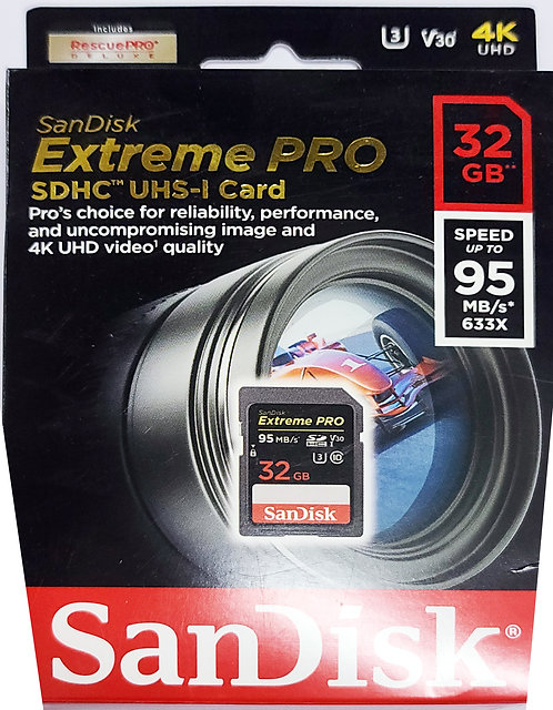 SanDisk Extreme PRO UHS-I SD Card (SDSDXXG/SDSDXXY)
