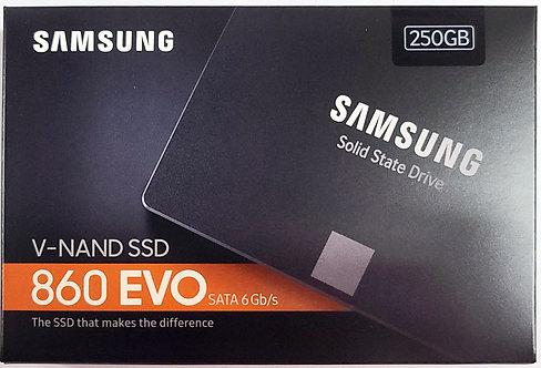 """Samsung 860 EVO SATA 2.5"""" SSD (MZ-76E)"""