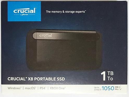 Crucial X8 1TB Portable SSD (CT1000X8SSD9)